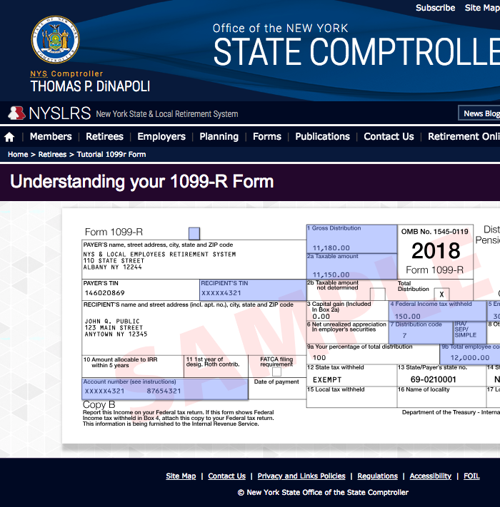 1099-r tax form tutorial screenshot